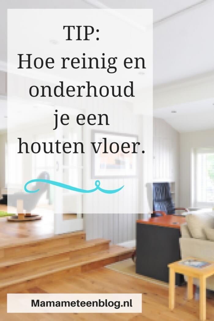 Supertip voor het onderhoud van je houten vloer #reinig #onderhoud #houtenvloer mamameteenblog.nl
