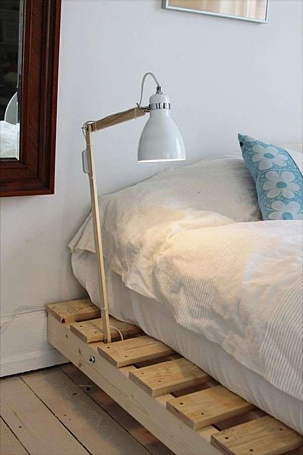 17 migliori idee su fai da te in camera da letto su pinterest organizzazione dormitorio diy e - Struttura letto fai da te ...