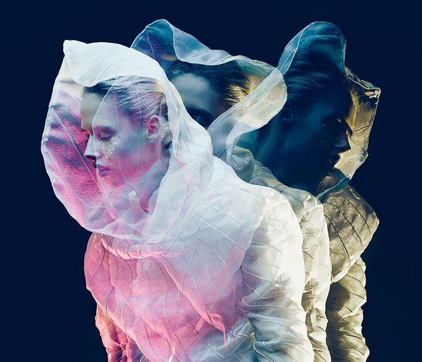 """Color of Beats""  Designer: Hailey Chan  MUA: Vivi Suzuki  Model: Danielle (Bravo models ,Tokyo Japan)  Photographer: Yanzhou Bao"