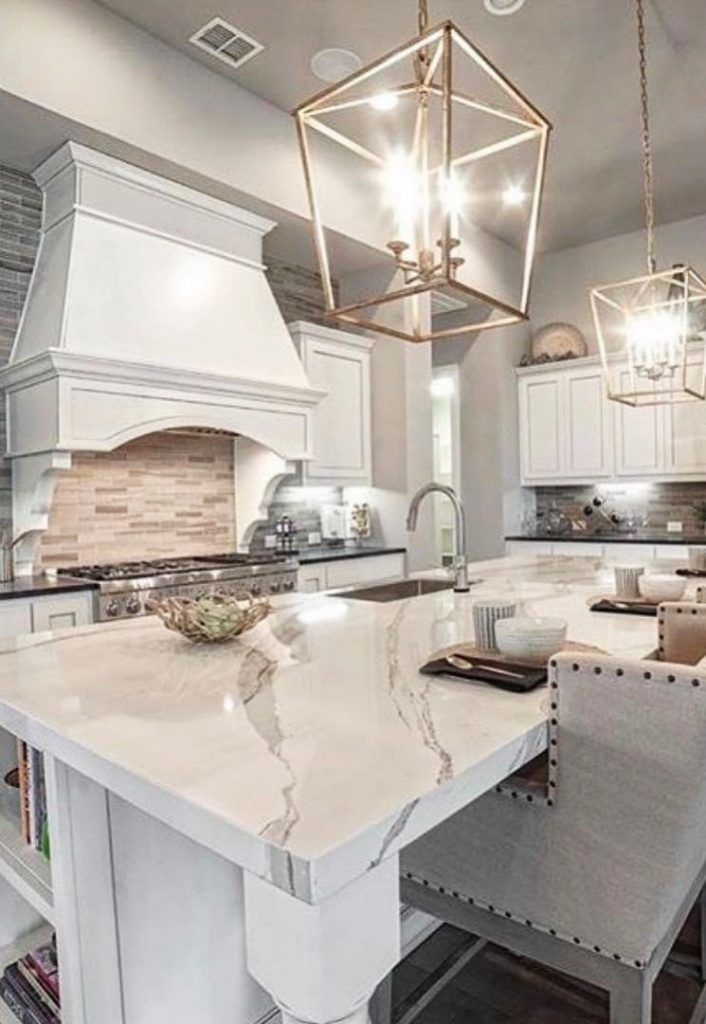 American Style Kitchens From Your Favorite Brands Or Designers Around The World White Kitchen Design Luxury Kitchens Home Kitchens
