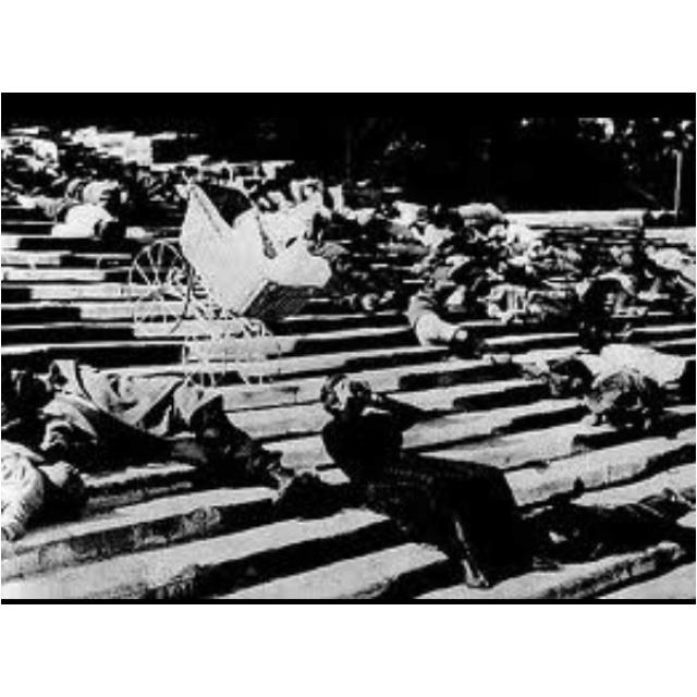 an analysis of the silent film battleship potemkin The battleship potemkin (film)  in 1925 he took part in the battleship potemkin silent film  extensively on montage's redirection of film analysis toward.