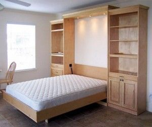 55 best murphy beds images on pinterest murphy beds home ideas and alcove bed - Murphy Bed Design Ideas