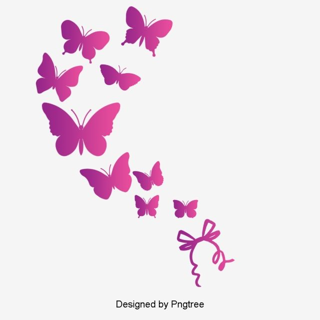 Pink Butterfly Butterfly Pink Vector Png Transparent Clipart Image And Psd File For Free Download Butterfly Clip Art Pink Pattern Background Pink Butterfly