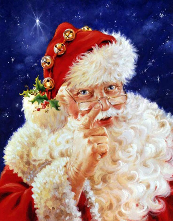 Дед мороз картинки на телефон