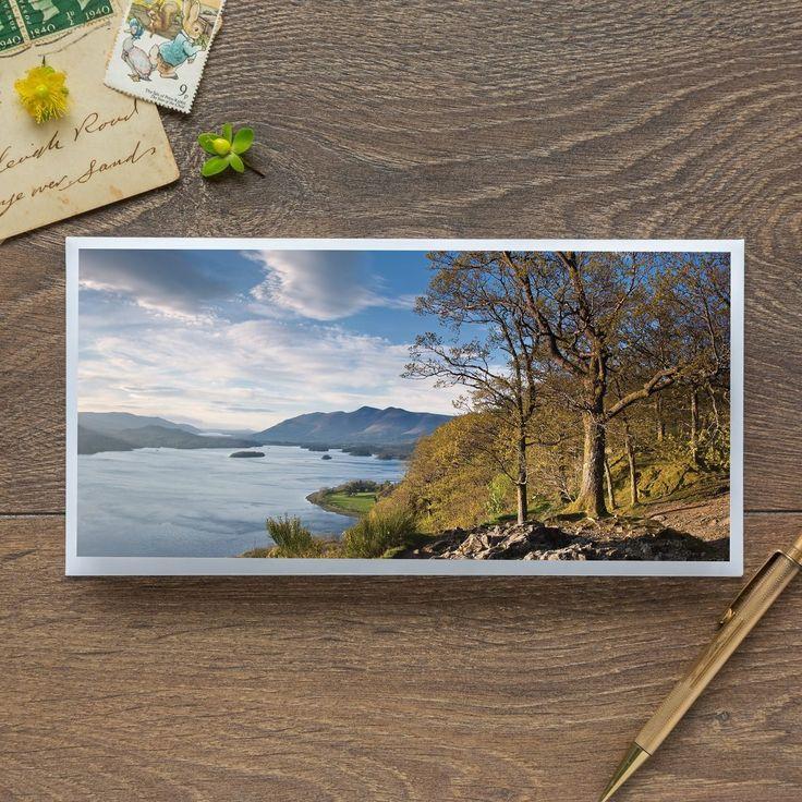 Single Blank Card by landscape photographer Nina K Claridge – Surprise View