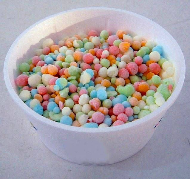 YES. Homemade dippin dots!! Pinterest, I knew I loved you.