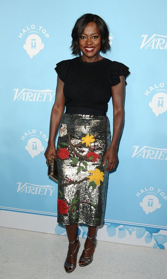Variety and Women In Film's 2017 pre-Emmy celebration, sponsored by Mercedes-Benz, took place at West Hollywood's Gracias Madre on September 15.  Leading the starry guest list, here, was Viola Davis.