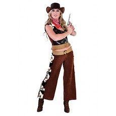 Cowgirl Kostuum Rena 3-delig