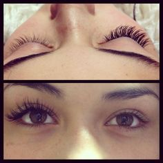 individual eyelashes extension - Google Search