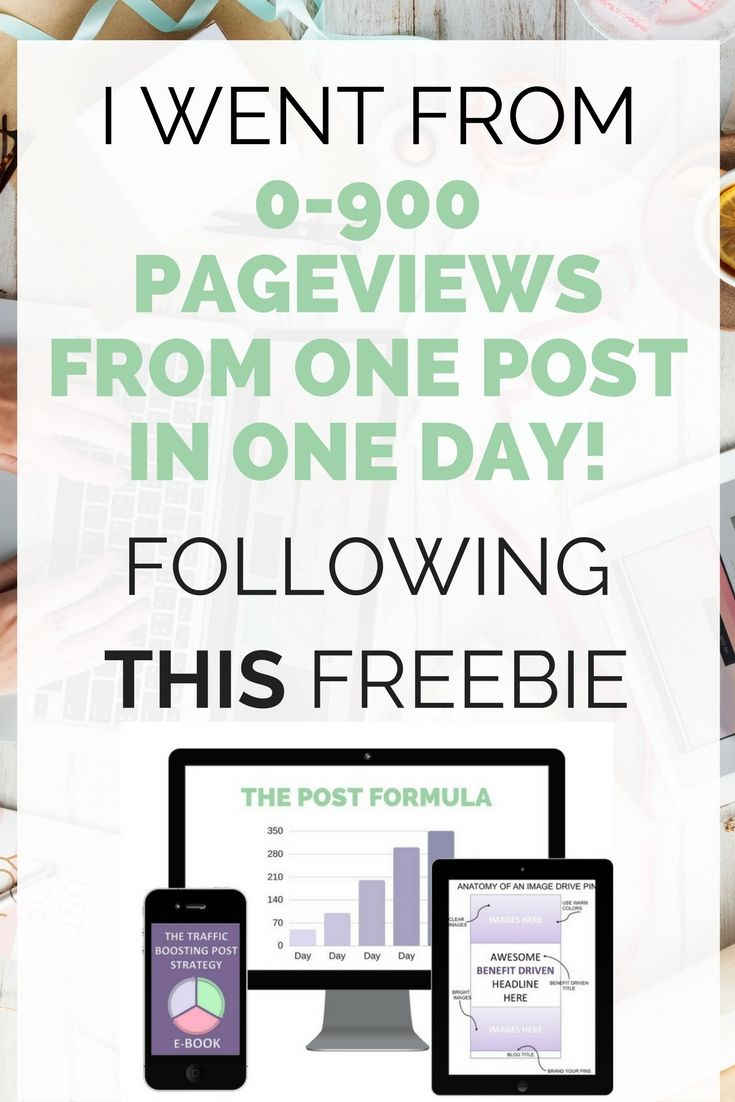 This freebie tells you exactly step by step how to create post or update your existing post to help drive traffic to your site!