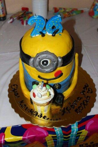 Minnion cake by elina