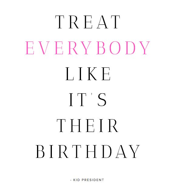 fabulous K • Birthday Quote
