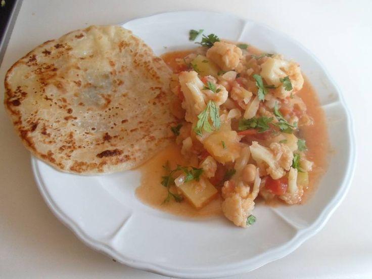 Indiaase Bloemkool- Zoete Aardappel Curry recept | Smulweb.nl