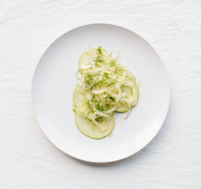 Shaved Apple & Fennel Salad