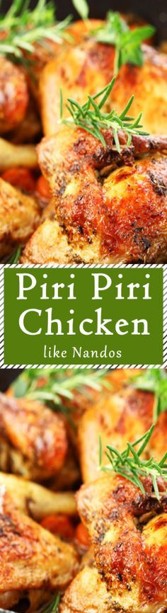 Make Piri Piri Chicken like Nandos in no time. Make the source from scratch and marinate. Check the recipe out.