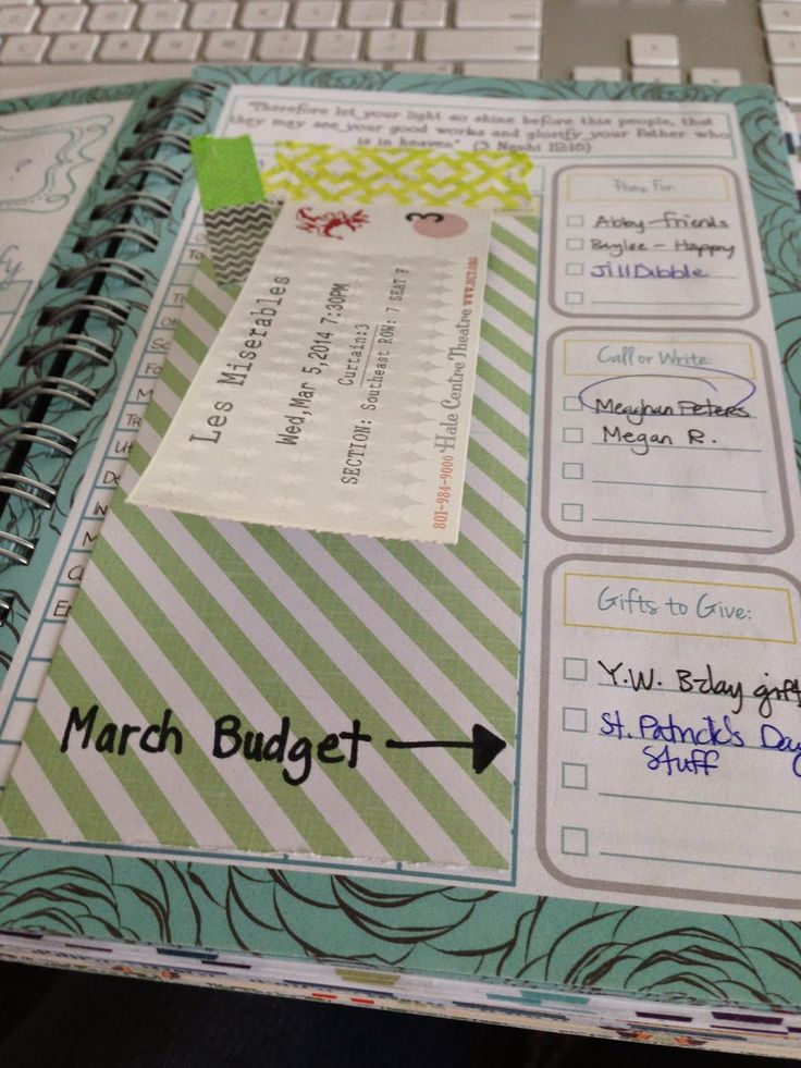 Washi Tape with Mormon Mom Planner