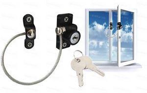 a cable de clave de bloqueo de ventanas de seguridad infantil ventana restrictor nino prueba seguridad de alambre