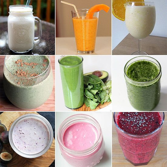 46 Healthy Smoothie Recipes For Any Occasion. Seems to have a DELICIOUS compilation of smoothies that are meant for all maladies/weight loss purposes
