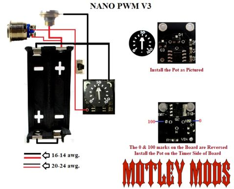 BOX MOD WIRING DIAGRAMS - Motley Mods llc (With images)