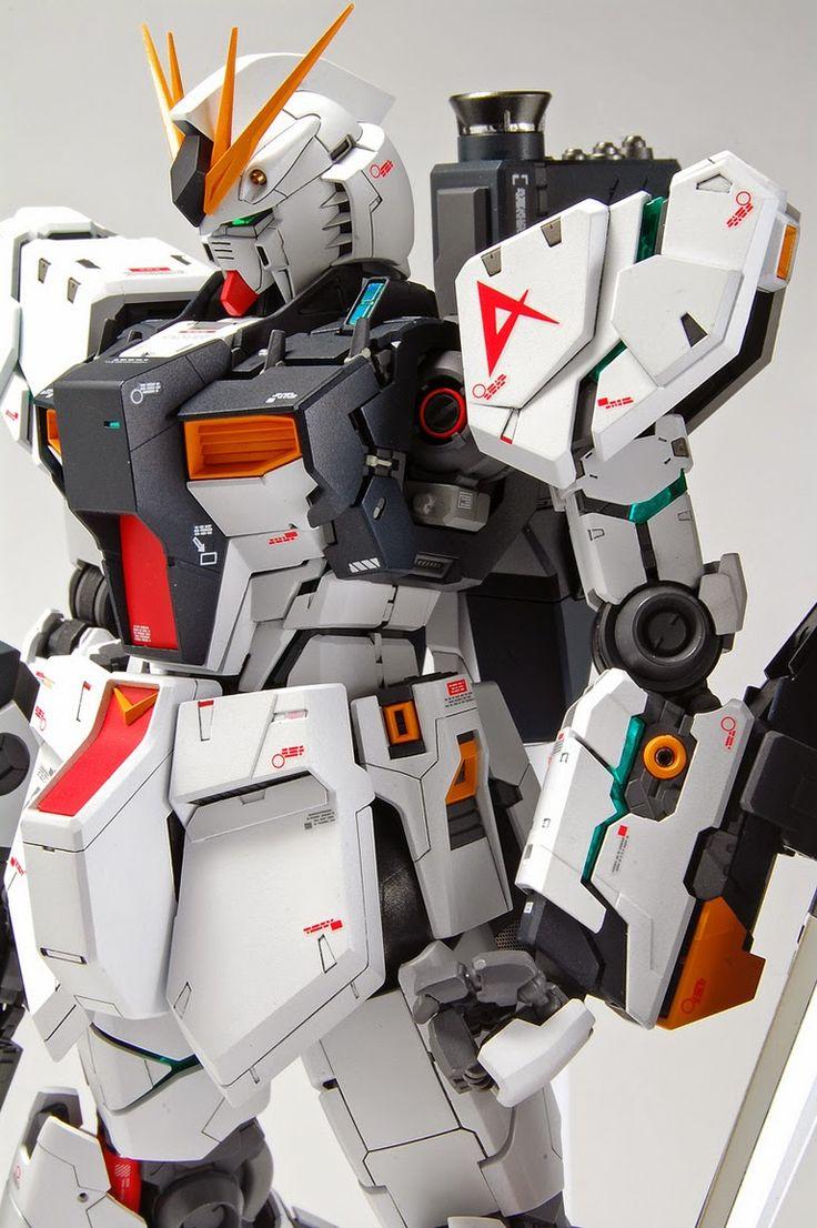 21 Best Crazy Custom Gunpla Images On Pinterest Gundam Model Rx 93 V Nu Ver Ka Master Grade 1100 Daban Mg 1 100 Customized Build Modeled By Kenta0824