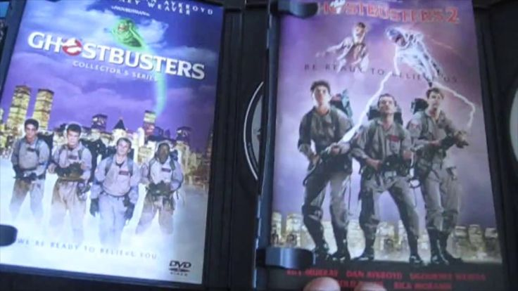 DIY GHOSTBUSTERS DVD COVER TO PICTURE FRAME WALL ART