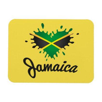 Jamaica flag Iceland - Proud Jamaicans - magnet  $5.80  by Jah_Rastafari_Shop  - custom gift idea
