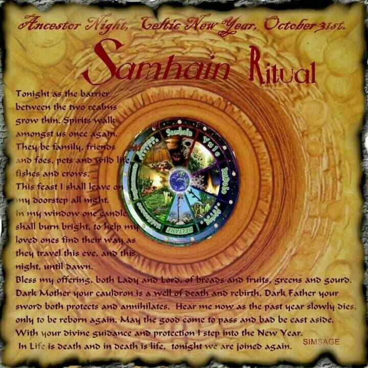 Samhain Samhain Pinterest Samhain Ritual