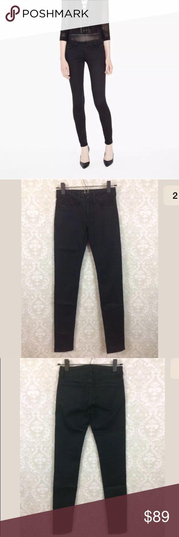 """New The Kooples Sport skin skinny jeans dark New with tags The Kooples Sport skinny jeans, size 24. Super dark navy color that looks black.   Waist lying flat-13""""  Inseam-31"""" The Kooples Jeans Skinny"""
