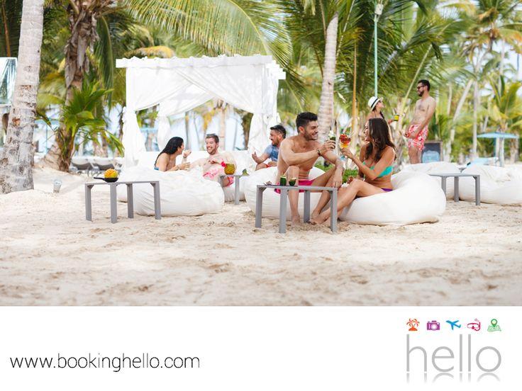 EL MEJOR ALL INCLUSIVE AL CARIBE. República Dominicana está rodeada de playas perfectas y un clima fantástico para vacacionar. Al adquirir More For Less pack de Booking Hello, podrás enriquecer tus vacaciones y disfrutar con tus amigos de una estancia increíble en alguno de los resorts Catalonia, además de un almuerzo en el Pearl Beach en República Dominicana o una cena en Rauxa Restaurant & Show, en el Caribe mexicano. Obtén más información en nuestro sitio en internet www.bookinghello.com.