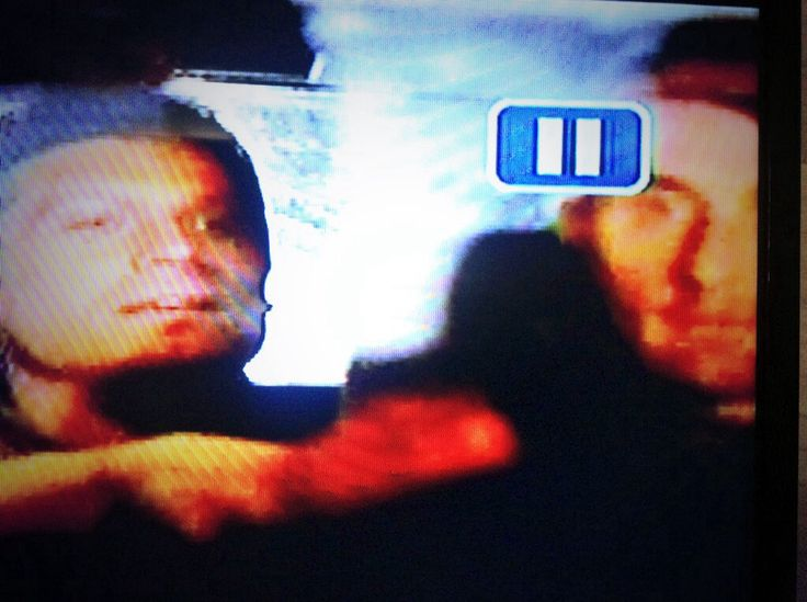 "Me playing ""Taxi Driver"" on Longmire Season 2 w/ Bailey Chase (Branch) in the backseat. back"