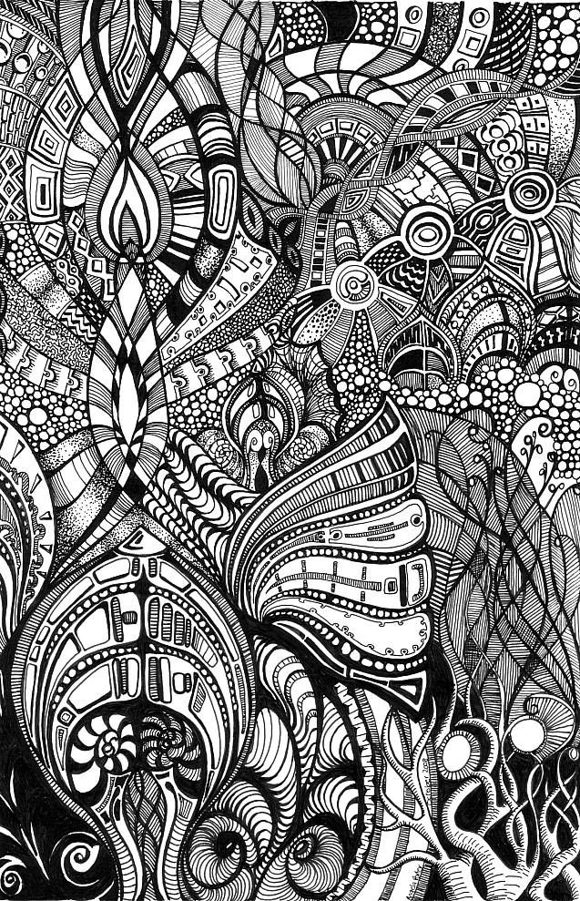 Psychedelic Romanesque 1 by *Artwyrd on deviantART