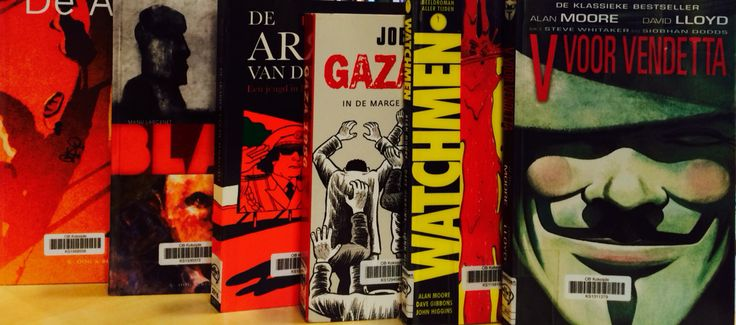 Graphic novels in de bib!
