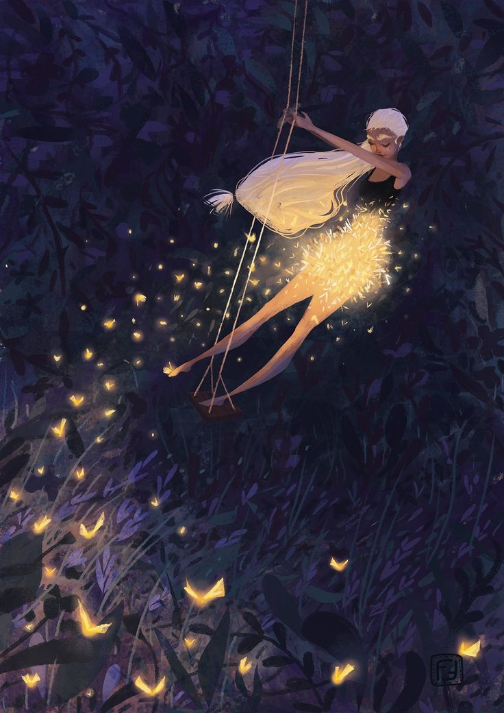 Fantasy Art And Other Stuff: lohrien: Enchanted Lights by Federica Frenna