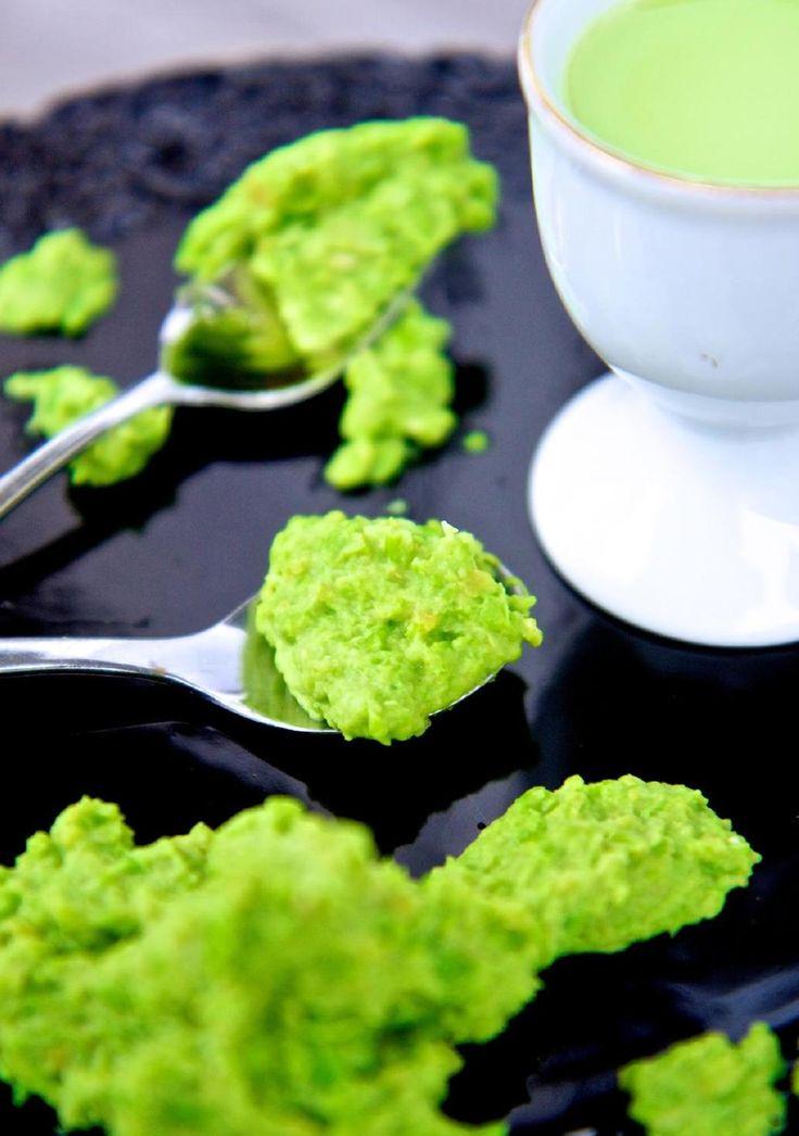 Ekologiskt recept på Kermitröra, Kikärtor, Avokado, Dijonsenap, Gröna ärtor,