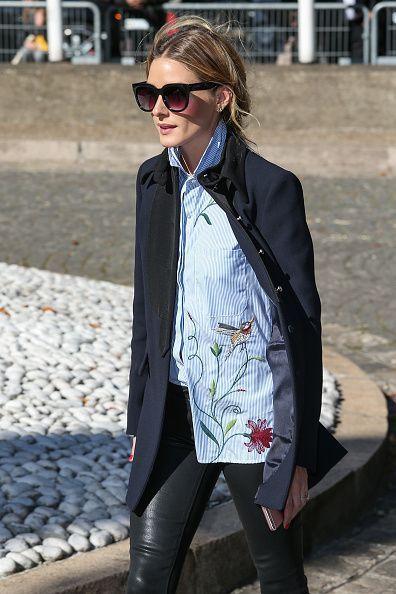 Olivia Palermo at Paris Fashion Week                                                                                                                                                                                 More