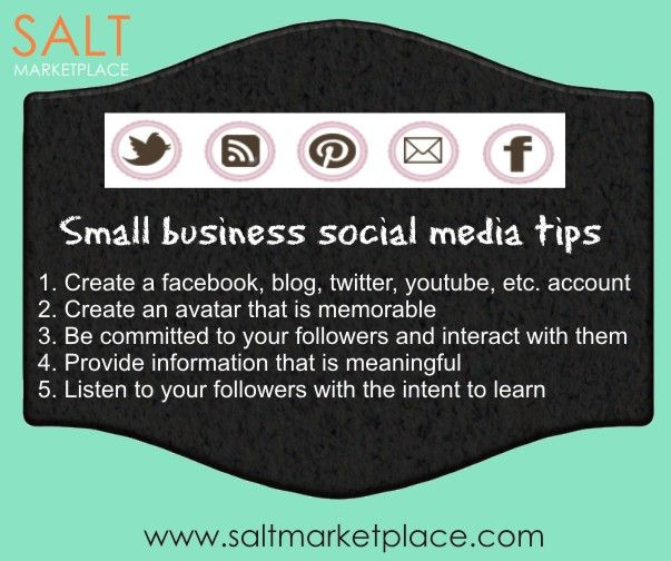 GREAT small buisness social media marketing tips.