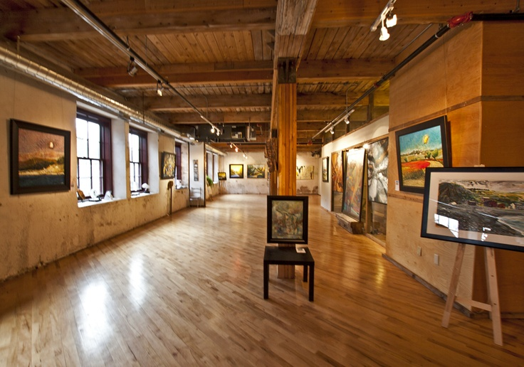 The Bartlett Gallery, interior.