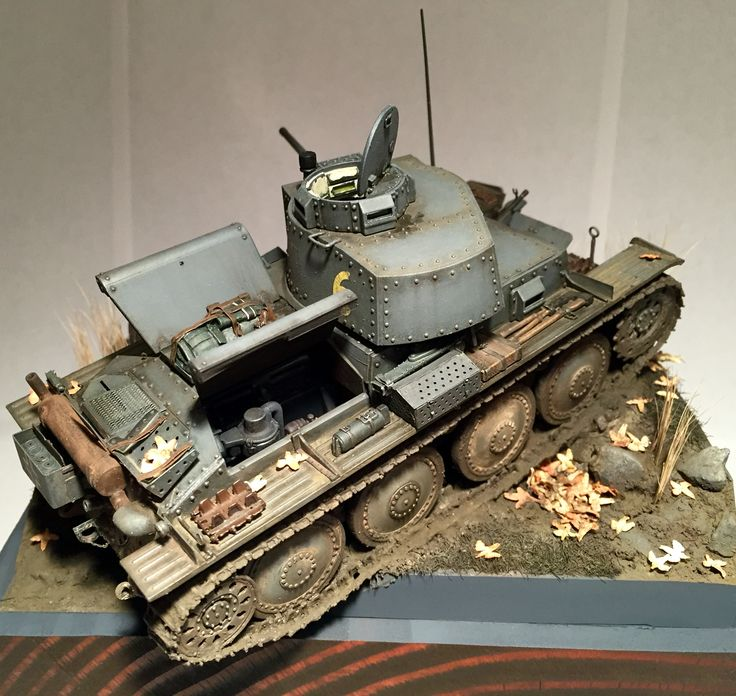 Panzer 38(t) 1/35 scale. Full interior. Friul tracks and Voyager detail barrel and photo etch.
