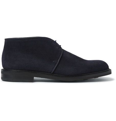 John Lobb Grove Suede Chukka Boots | MR PORTER