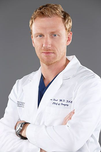 Red haired men are my weakness! *swoon* Kevin McKidd as Dr. Owen Hunt on Grey's Anatomy.