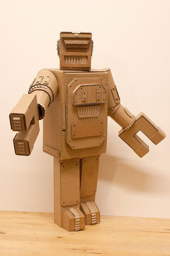 best 25 cardboard robot ideas on pinterest how to do. Black Bedroom Furniture Sets. Home Design Ideas