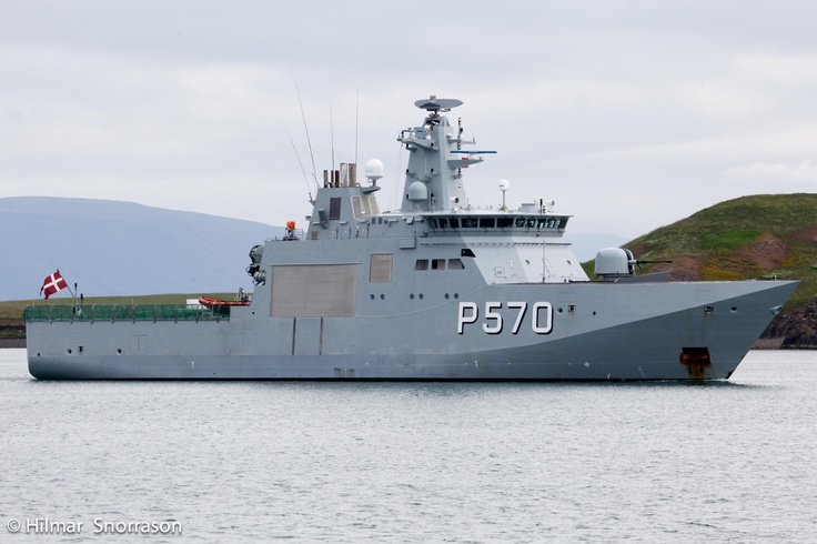 HDMS Knud Rasmussen (P570) - Knud Rasmussen class Patrol ...