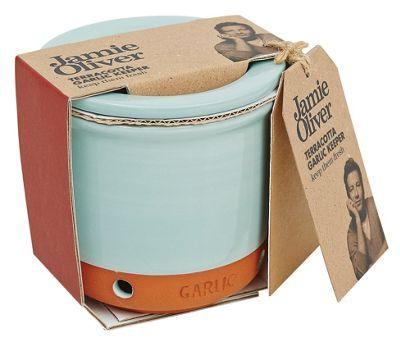 Jamie Oliver Terracotta garlic keeper-   Debenhams