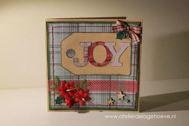 Papierlijn 'Christmas in the Country' van Papermania