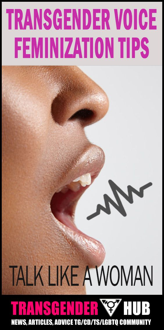 Let's face it, even if you look like the most passable girl or woman in the world, the moment you open your mouth and speak is the time you get ultimately read as male or female.Learn the 7 most important steps for transgender voice feminization. Read Article: http://www.transgenderhub.com/7-transgender-voice-feminization-mtf-coaching-tips/
