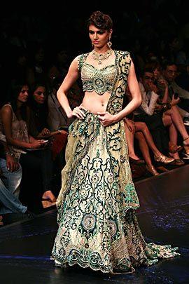 Gorgeous bridal ghagra choli