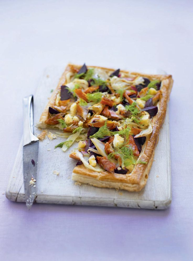 A quick and easy tart recipe, packed full of British ingredients.