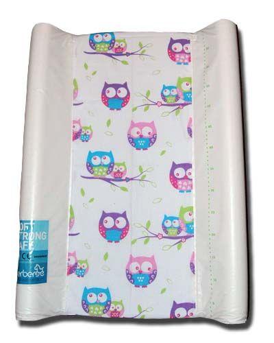 pokrowiec bawełniany uniwersalnyz gumką na przewijak - Sowapink/changing mat cover