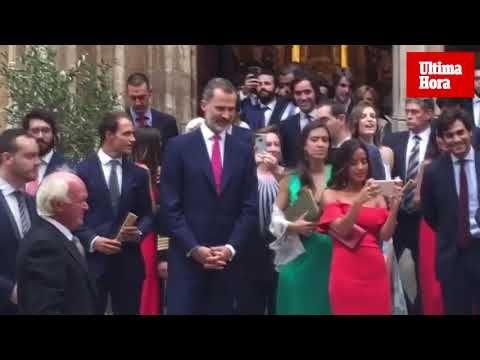 El rey Felipe acude a la boda de su ahijada Martina en Palma » Sociedad » Noticias » Ultima Hora Mallorca