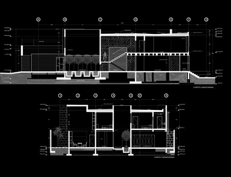 M s de 1000 ideas sobre cortes arquitectonicos en for Arquitectura nota de corte